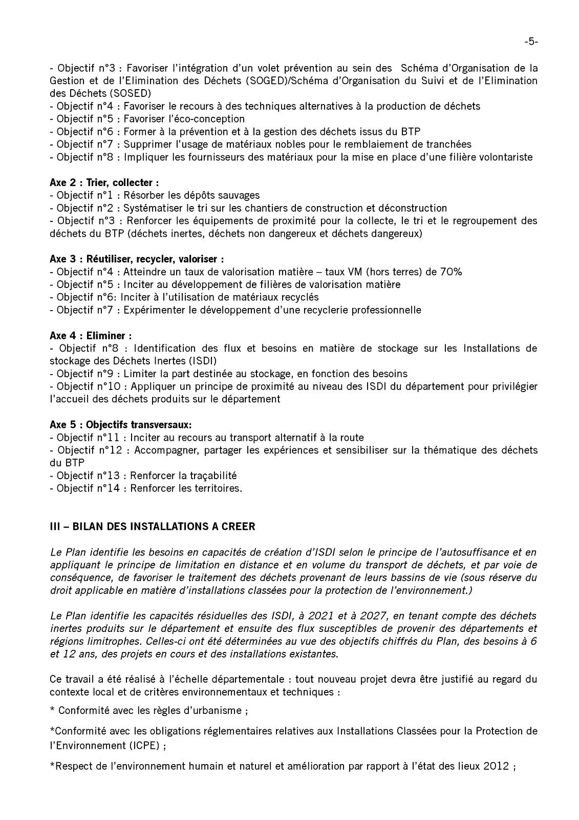 Communauté des communes du pays de Valois : 2ème rapport concernant les plans départementaux de prévention et de gestion des déchets de l'Oise
