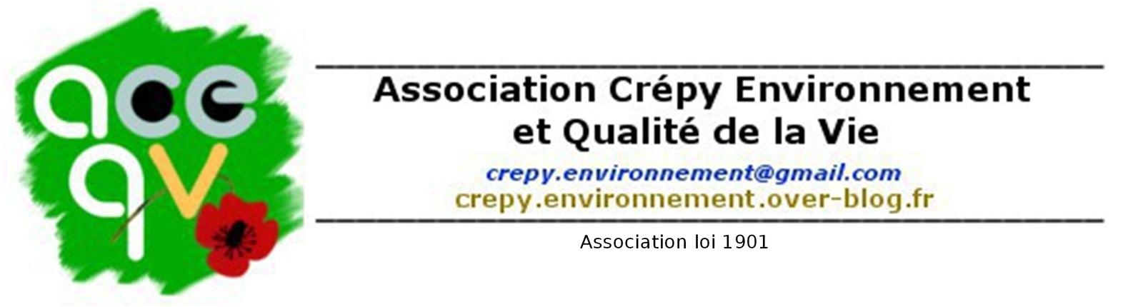 Crépy en Valois : Assemblée générale de l'association Crépy environnement et qualité de la vie