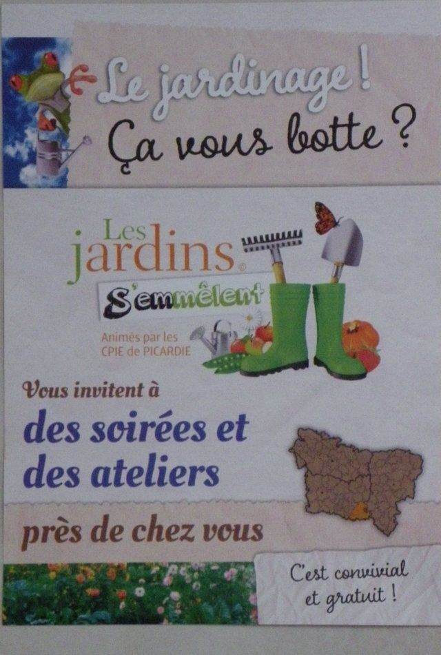 Communauté de communes du pays de Valois - Crépy en Valois : Pour les &quot&#x3B;accros du jardinage