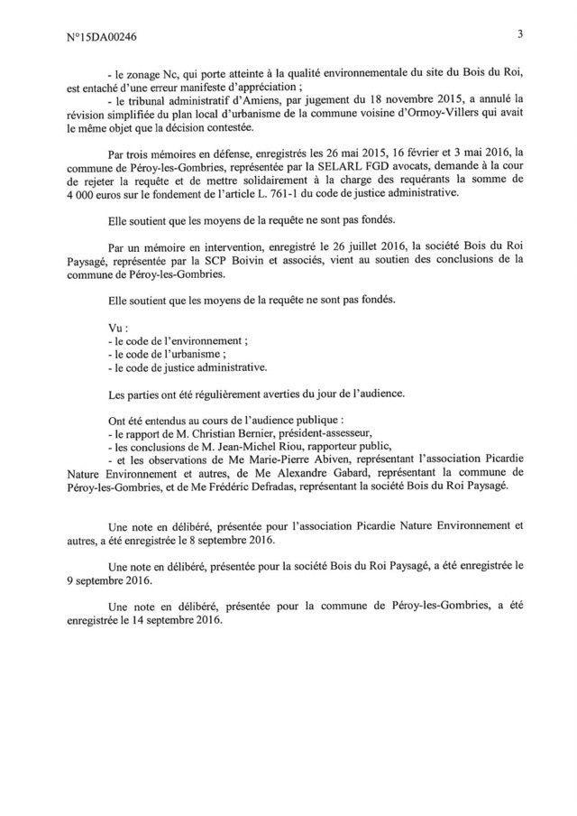 Pays de Valois-Crépy en Valois : Les conclusions de la cour d'appel administrative de Douai