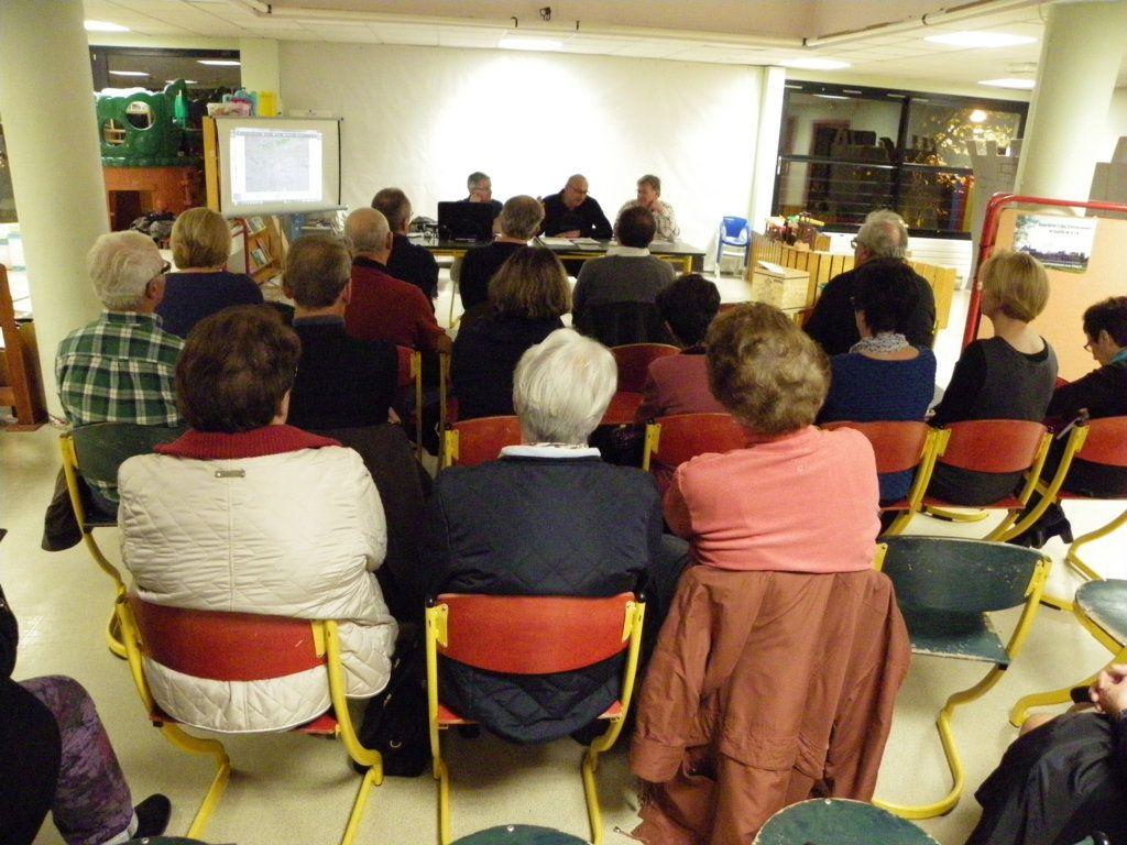 L'assemblée générale Espace Rameau à Crépy en Valois