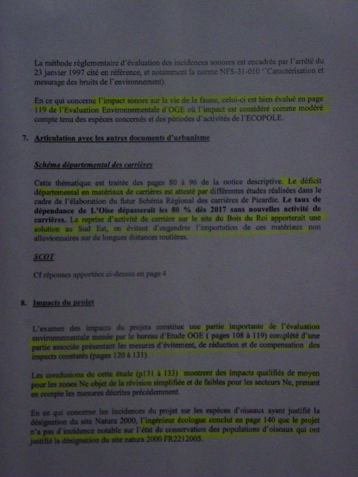 Pays de Valois : Bois du roi - Les contradictions du maire d'Ormoy-Villers