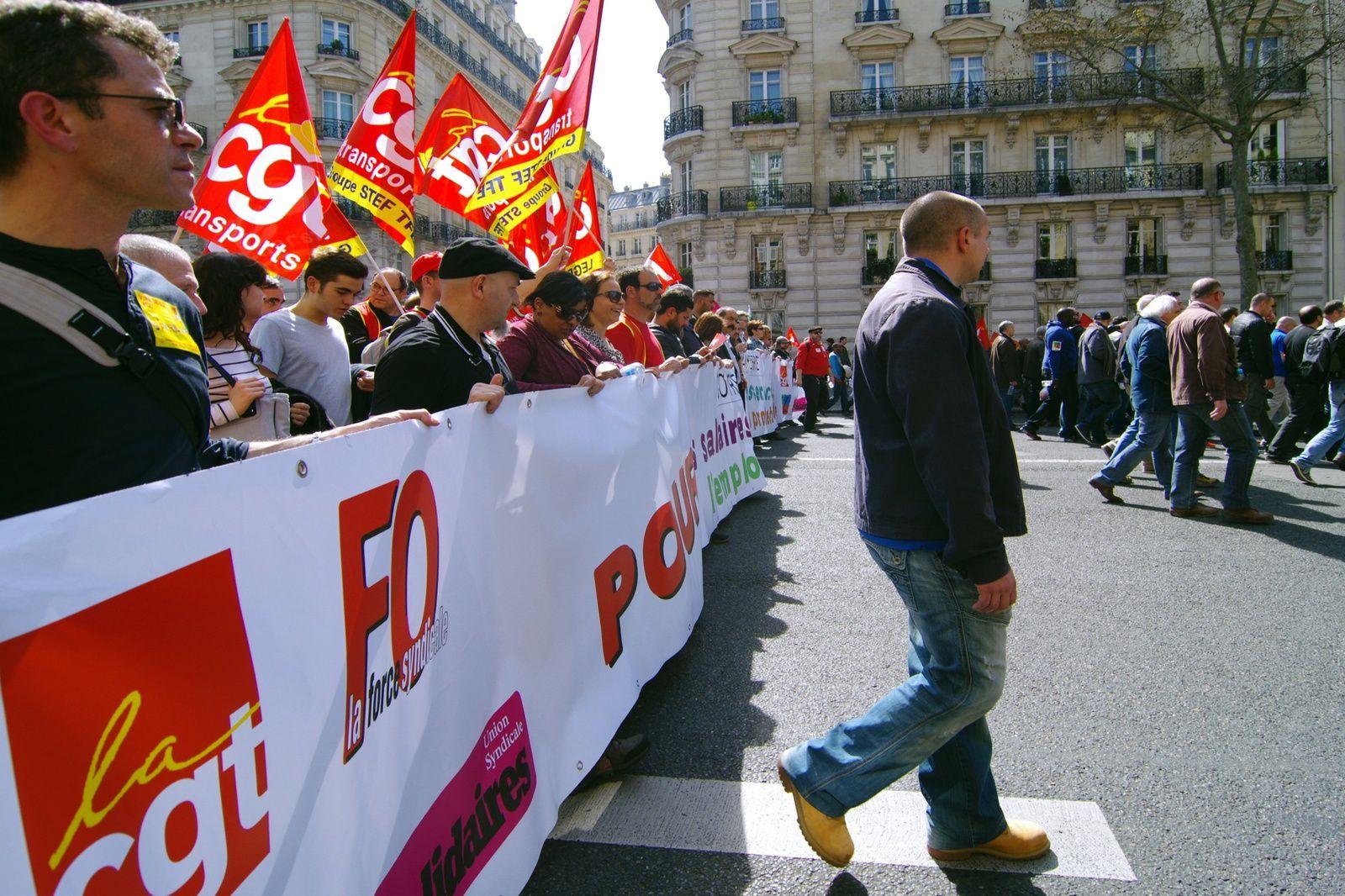 Grève du 9 avril - un succès dans un silence médiatique...