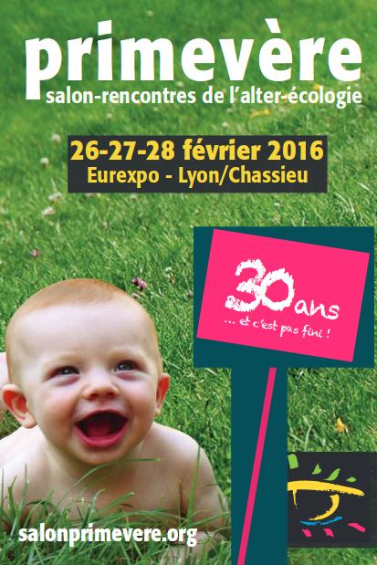 Salon Primevère à Lyon du 26 au 28 février 2016.