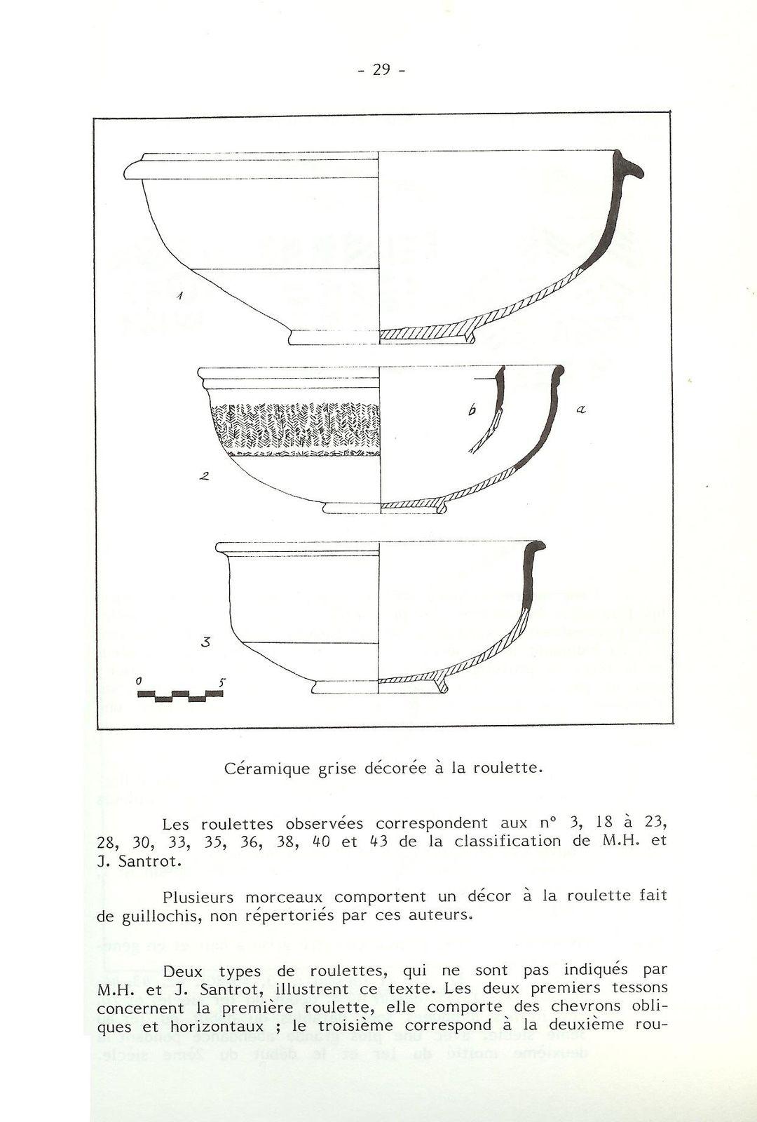 Les fouilles de l'Anglée dans les années 60 (suite)