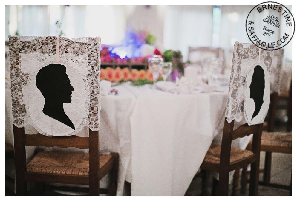 Décoration de l'église, des terrasses et jardins pour le cocktail. Scénographie présentant les cadeaux invités, l'urne et le livre d'or. Plan de table. Décoration de la salle