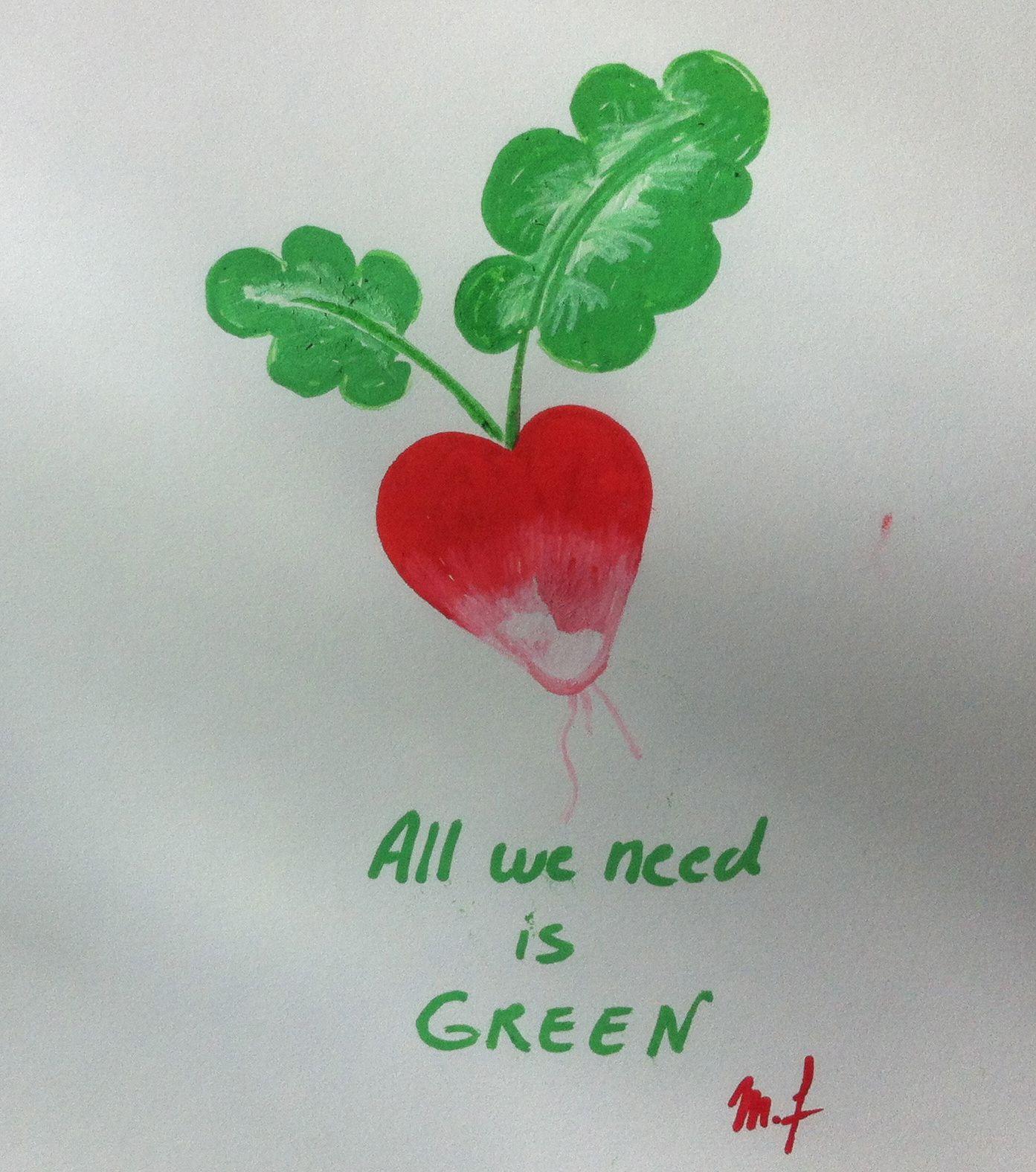 La minute Green...