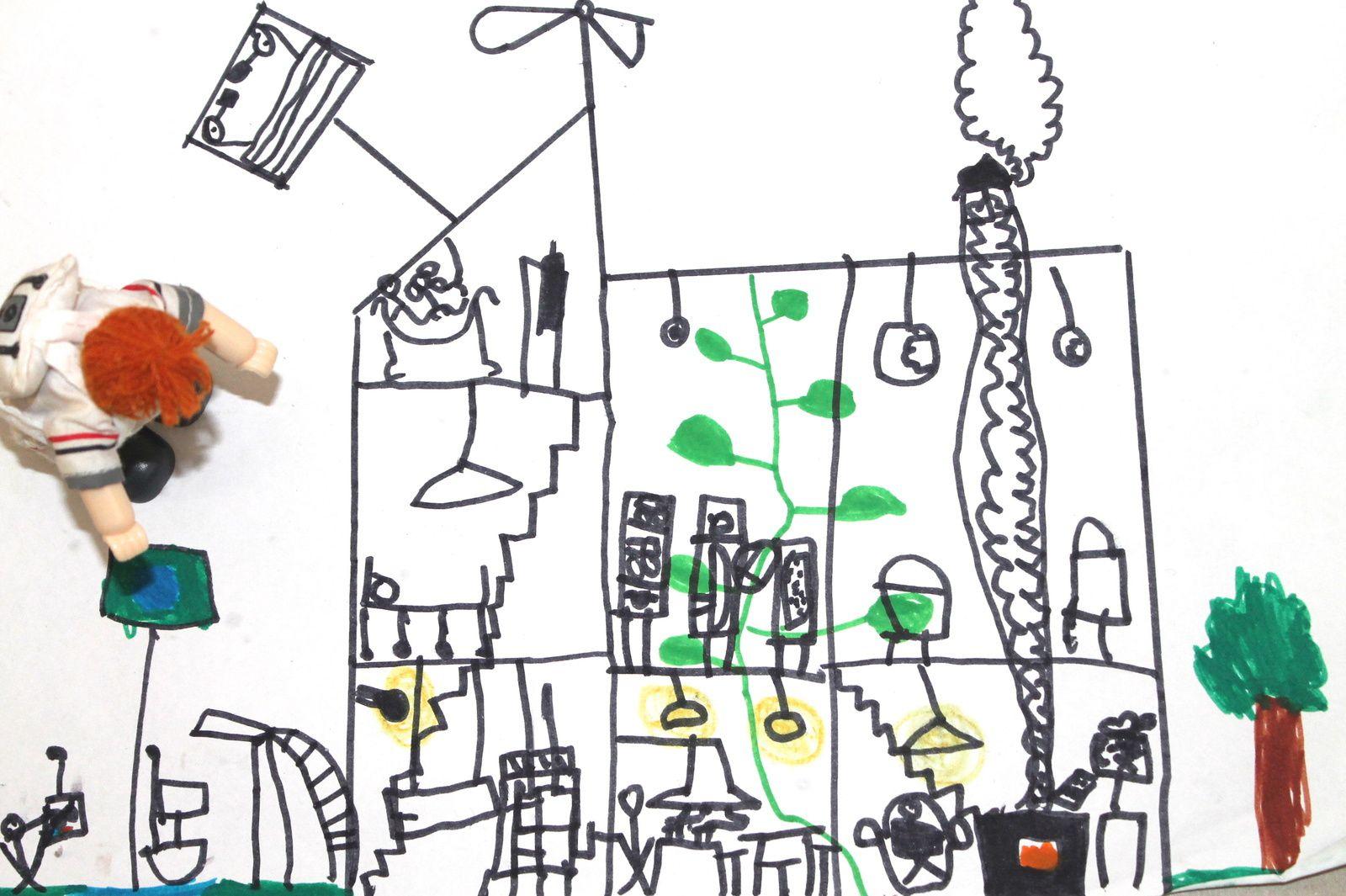 Une maison de poupée écologique Home Made?!...Défis à relever