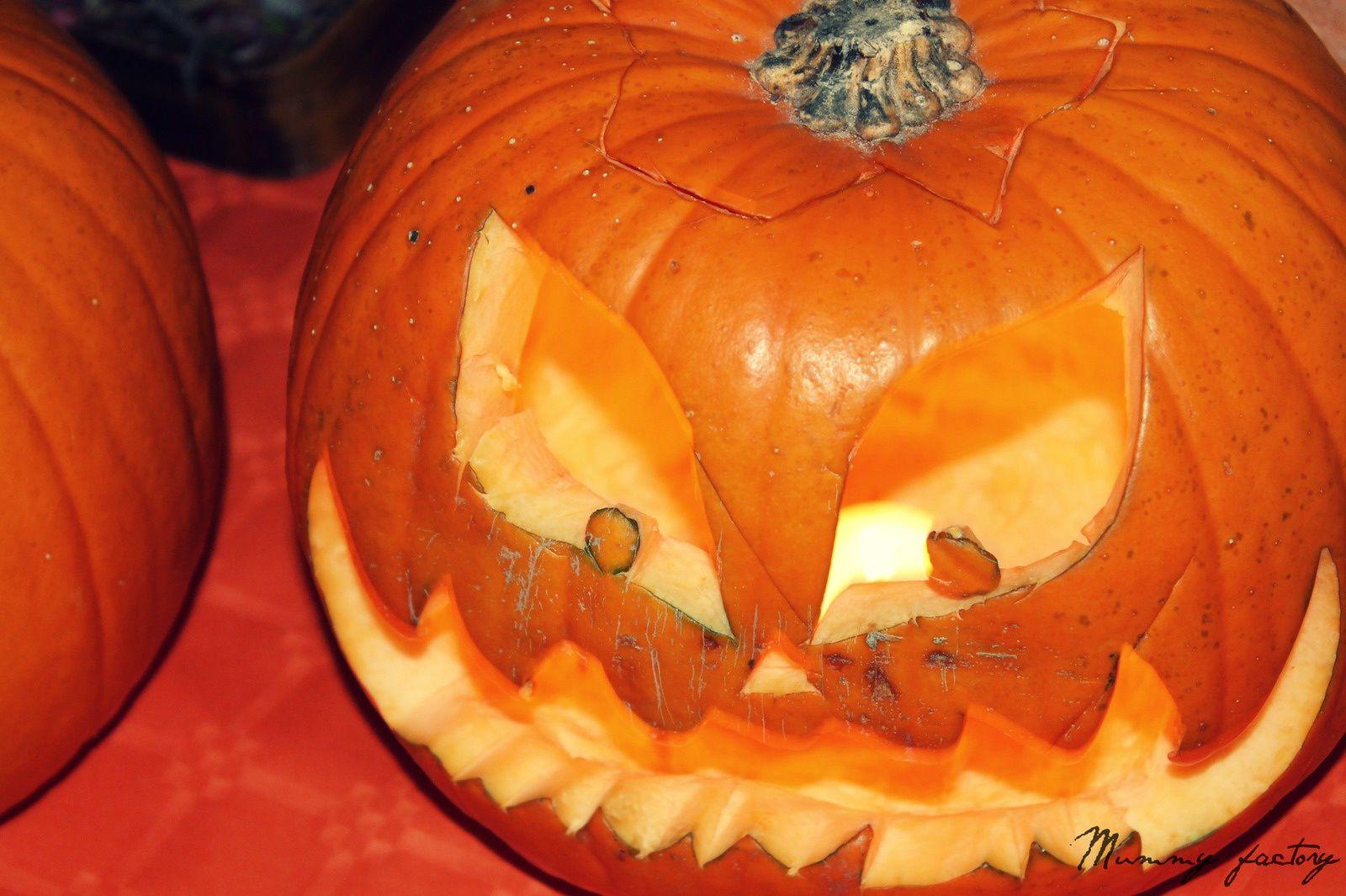 Halloween Part # 4....l'invasion des citrouilles!