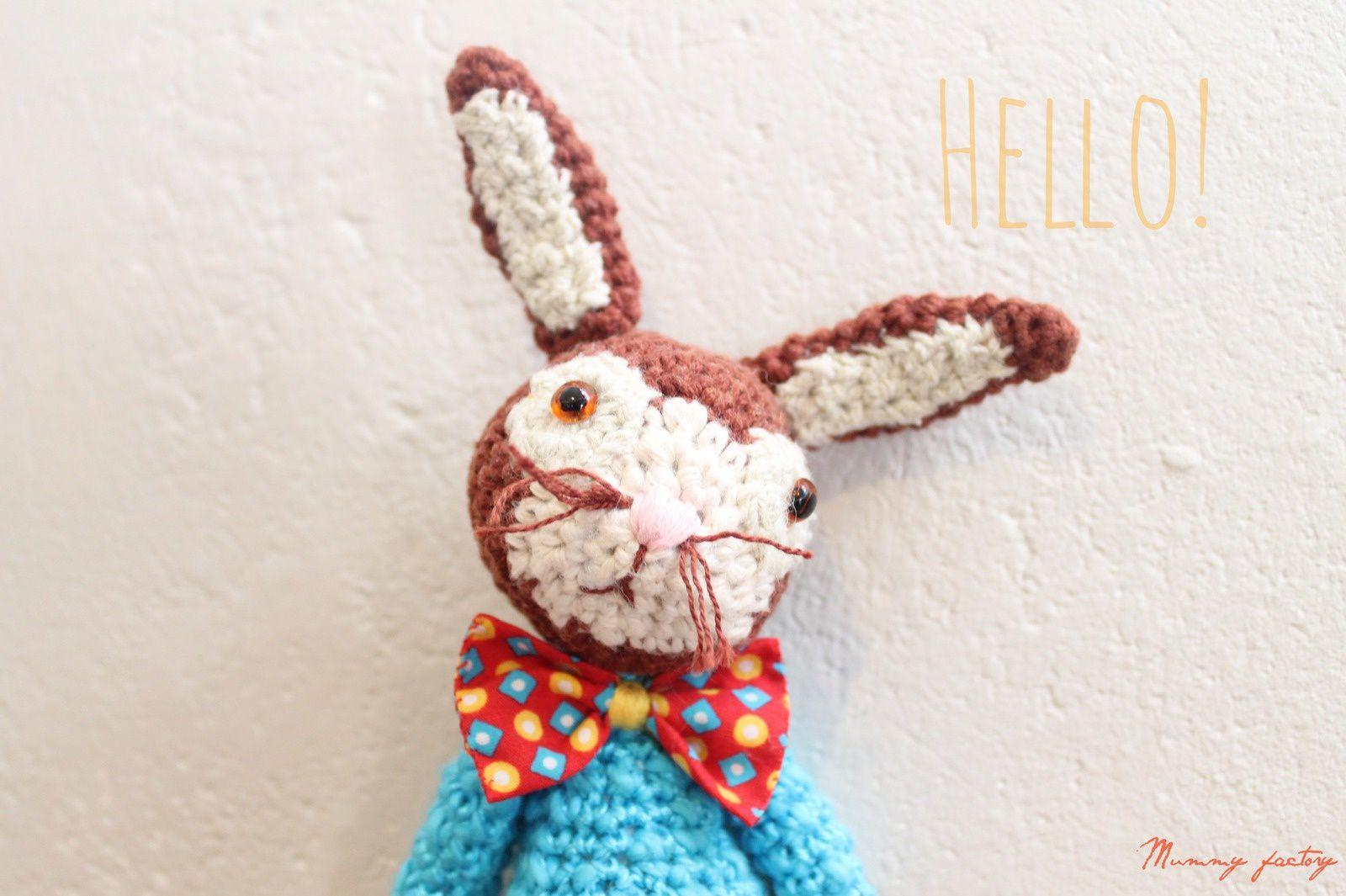 Un petit lapin ...au crochet..