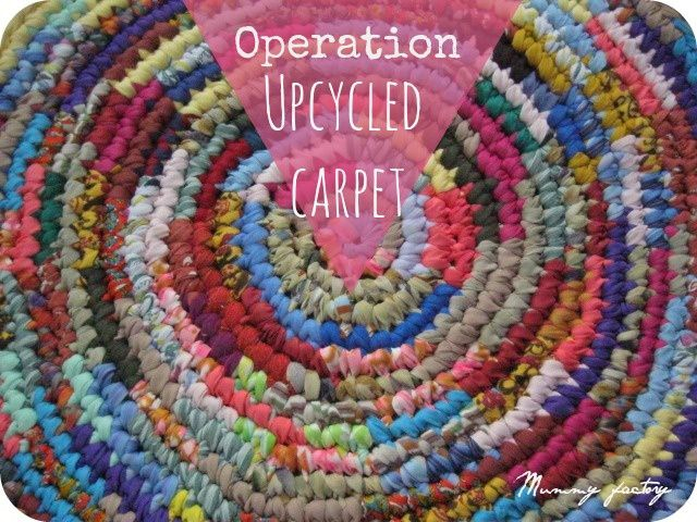 # 3 Upcycled Carpet ...