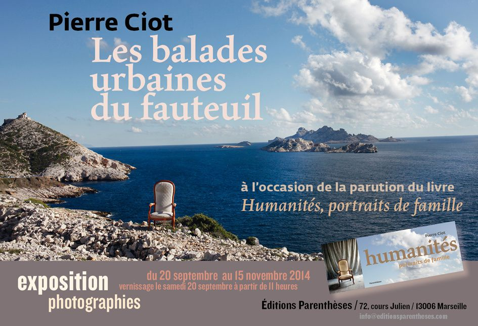 Exposition Photo de Pierre Ciot à Marseille