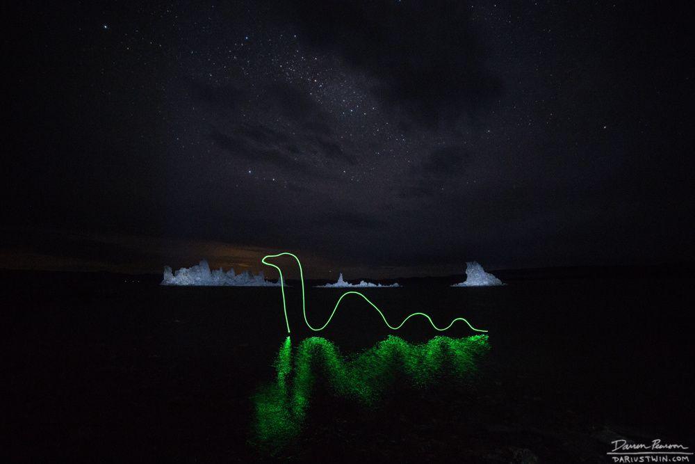 Darren Pearson, Nessie