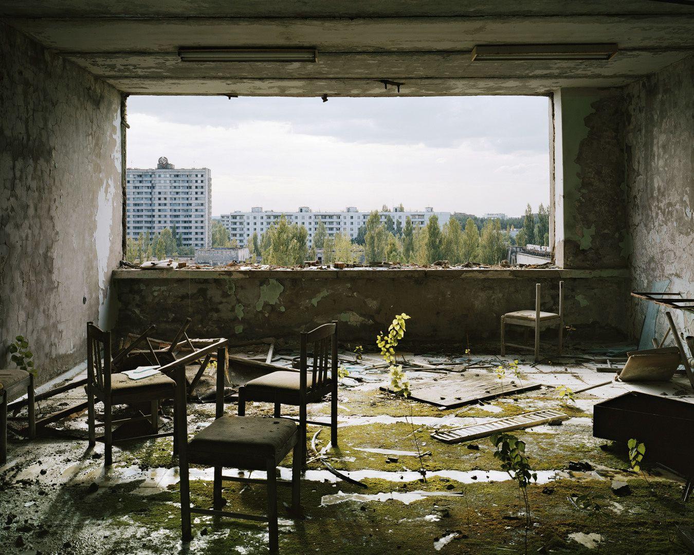 Ambroise Tézenas, Tchernobyl, Ukraine ( Série : Tourisme de la Désolation )