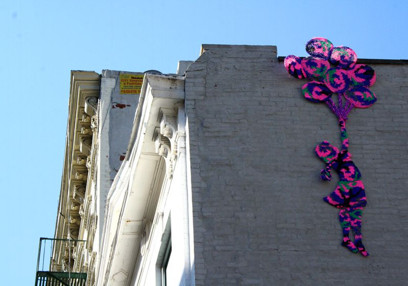 Balloon Girl (Homage to Banksy) | NYC 2011