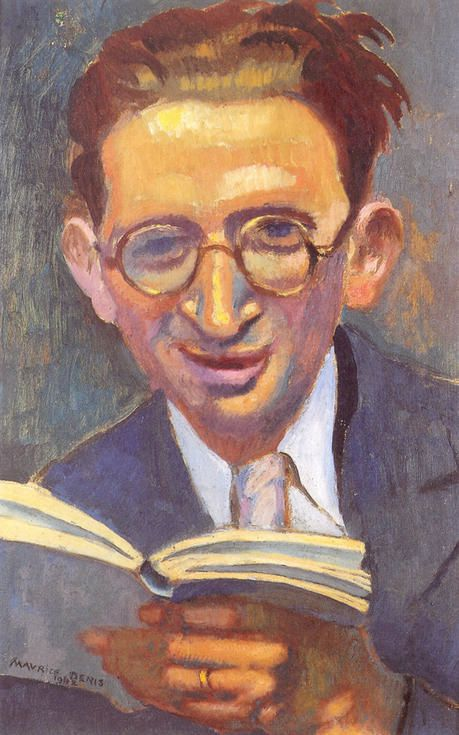 Portrait de Jean Follain (1903-1971), par Maurice Denis