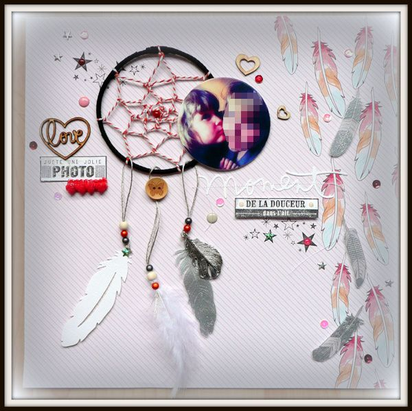 Page dream catcher