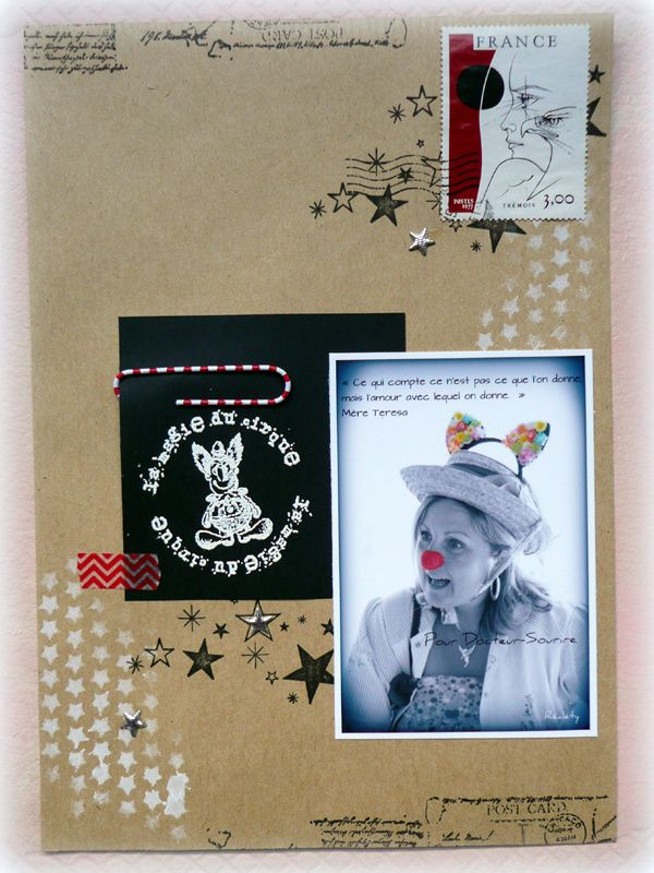 Mail art pour Give Your Scrap