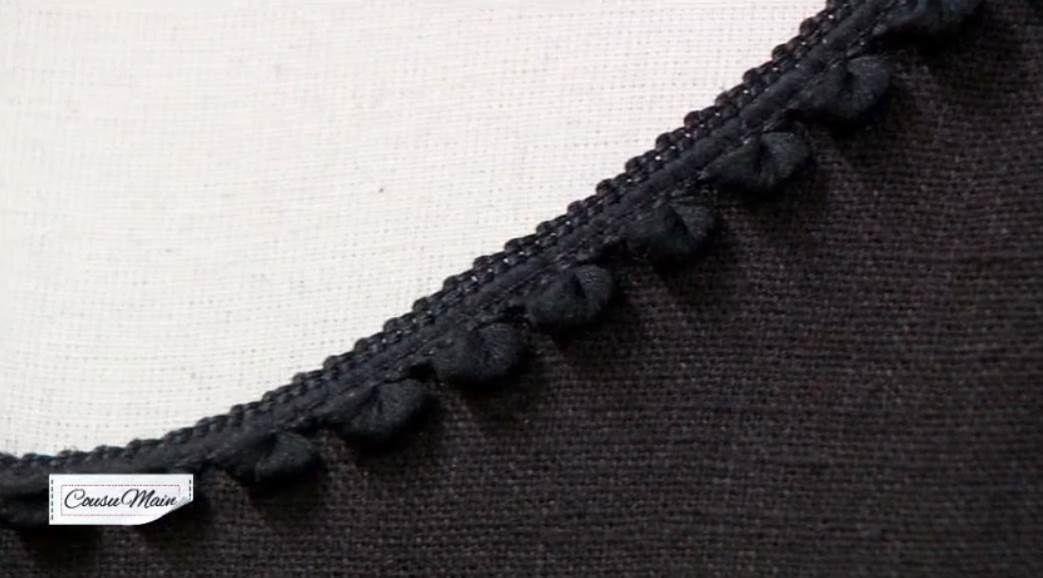 25def4870f7 COUSU MAIN 2 - la laine et le lin   Customiser une robe noire - Le ...