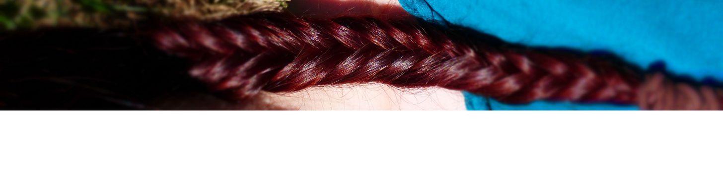 Un petit noeu dans mes cheveux