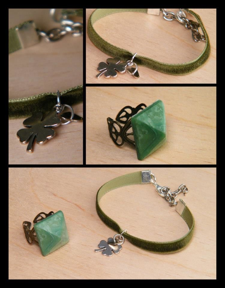 Des bijoux qui se mettent au vert