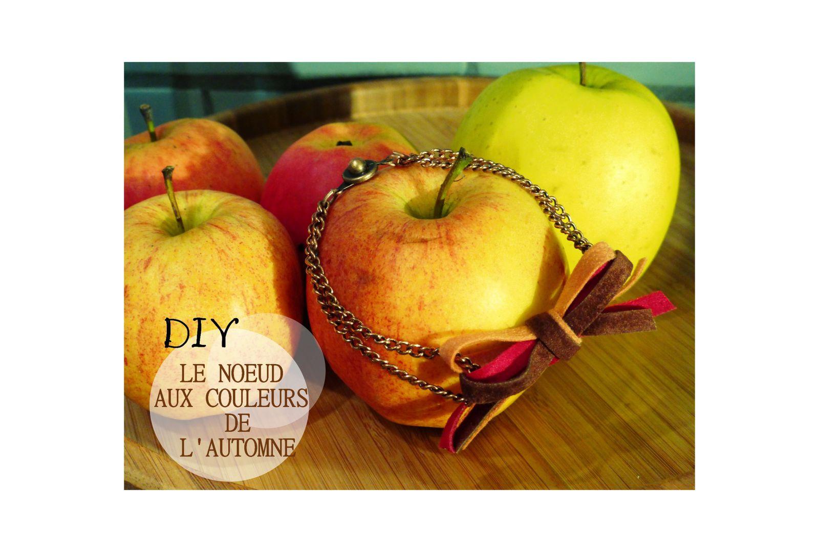 DIY: Le bracelet aux couleurs de l'automne