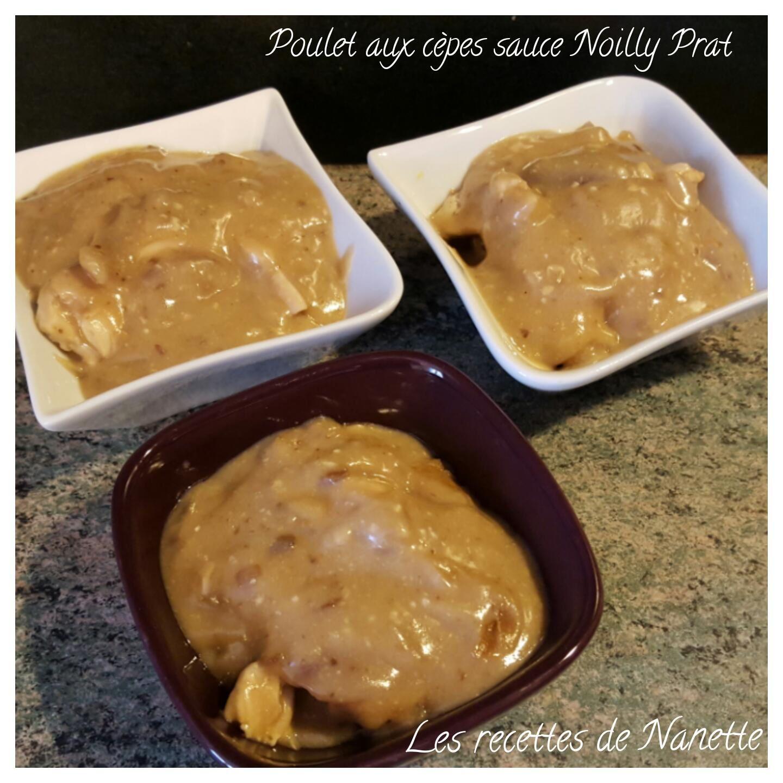 Poulet aux cèpes sauce Noilly Prat