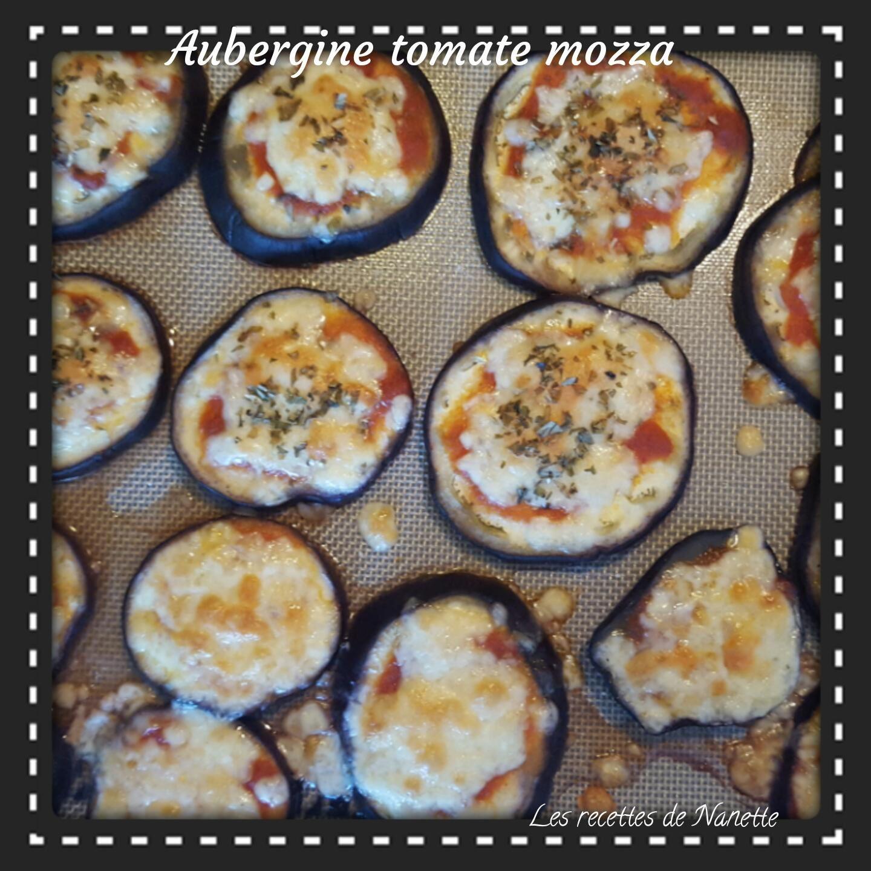 Aubergine tomate mozza