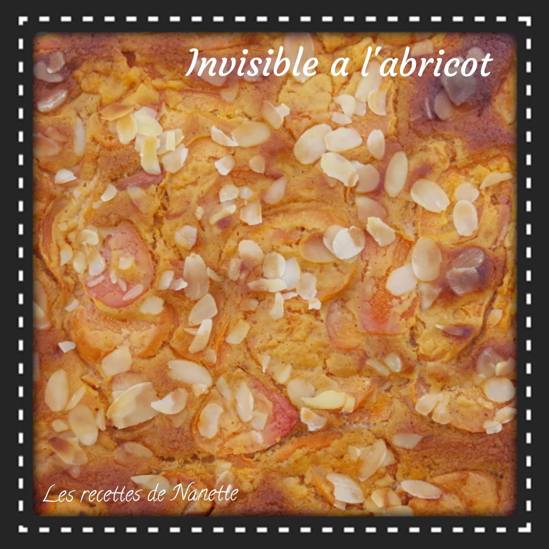 Invisible a l'abricot