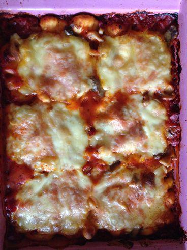 Gratin de gnocchis express les recettes ww de nanette - Cuisiner des gnocchis ...