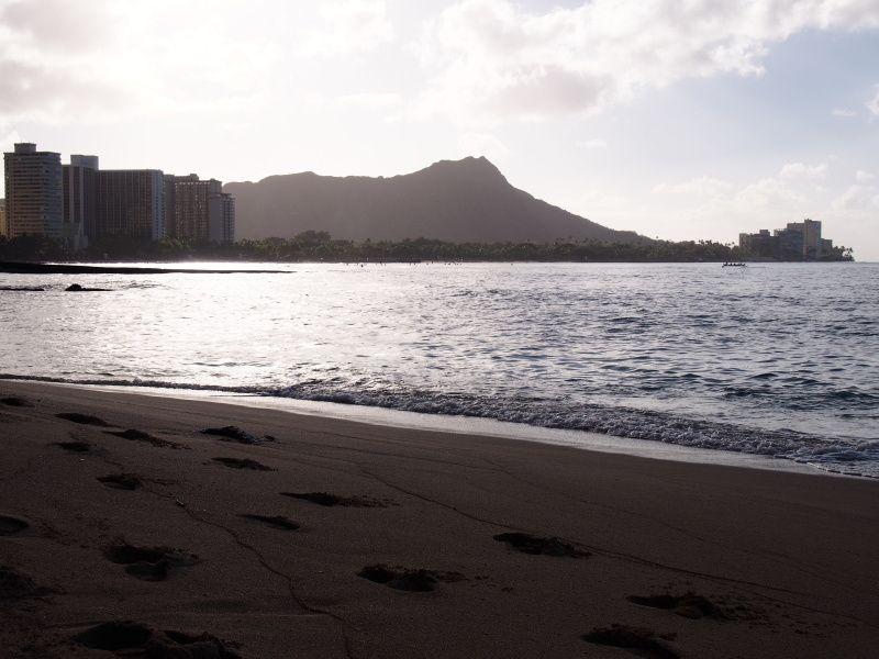 Hôtels et plage de Waikiki