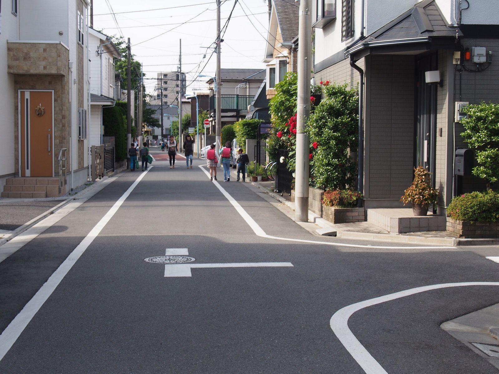 MATIN CALME ET ORDINAIRE A TOKYO