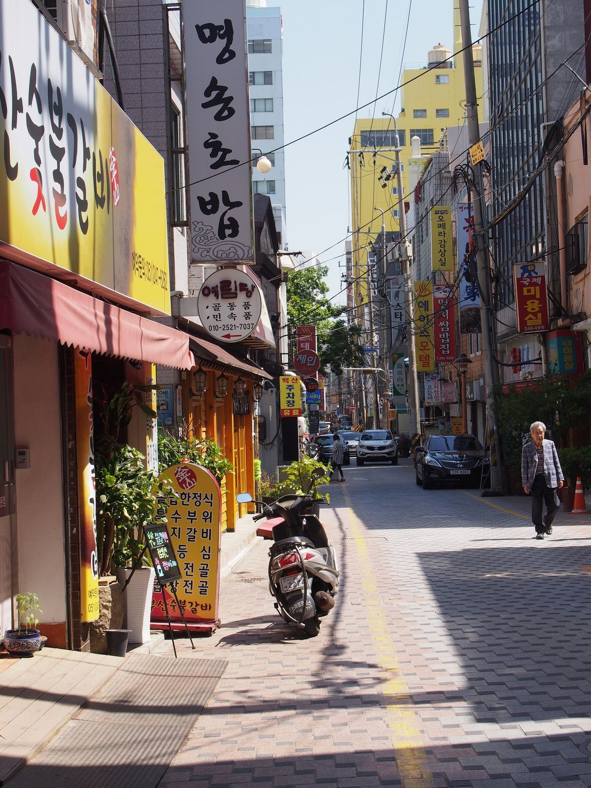 COREE : BUSAN, LE QUARTIER DU PORT