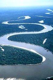 Une vue du Rio Nanay