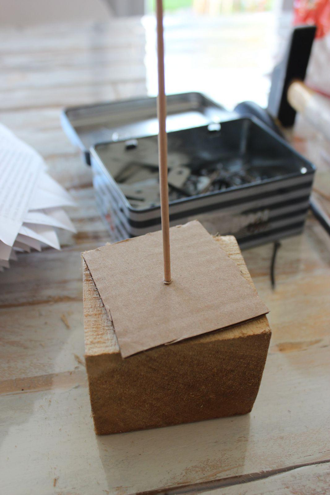 mettre un carré de carton... http://luniversdegarfield59.over-blog.com