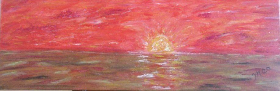 acrylique sur toile - 60 x 20