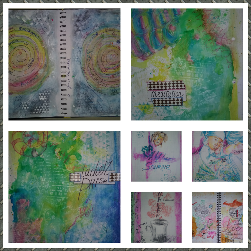 art journal. je continue le positiv journal.