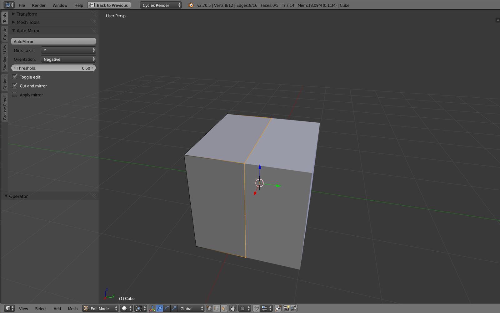 [Add-on] AutoMirror, mon add-on pour symétriser vos objets rapidement. [MàJ] La V2.4 est là !