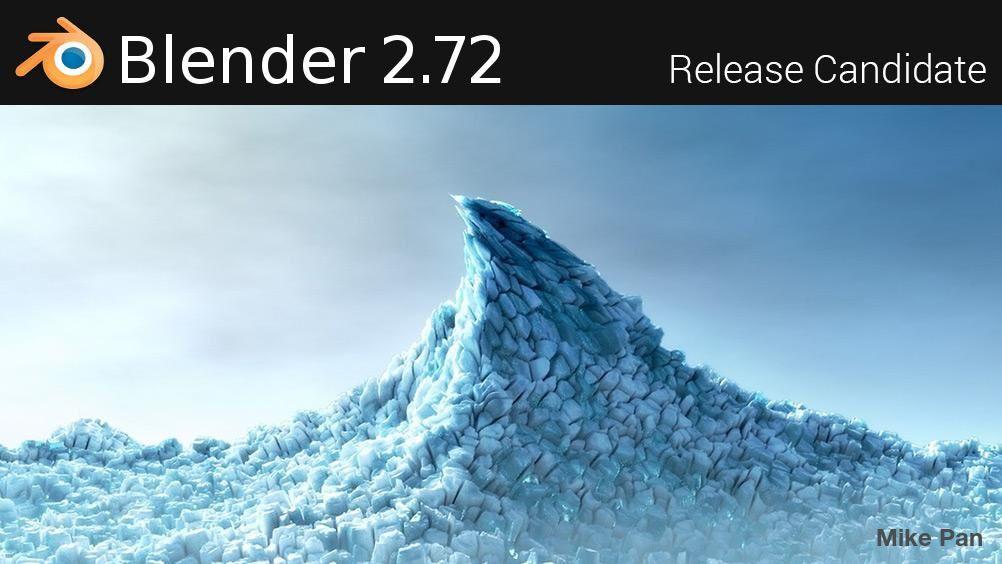 Blender 2.72: la RC est dans les bacs !