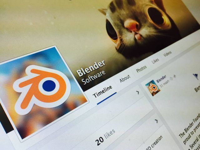 [Brève] Blender a maintenant une page Facebook officielle