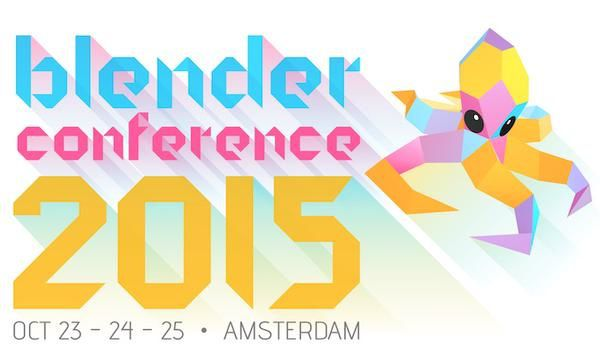 La Blender Conference 2015, c'est ce week-end !