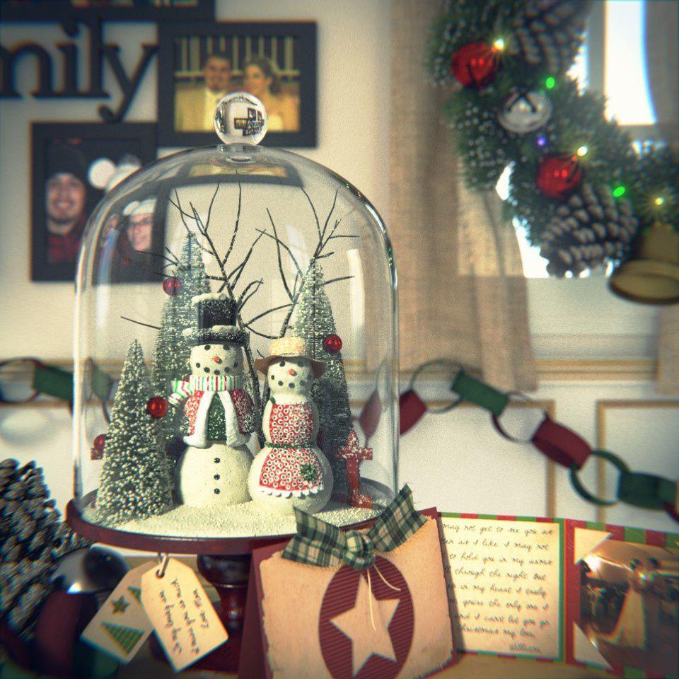Concours Christmas 2013 de BlenderGuru: les résultas.