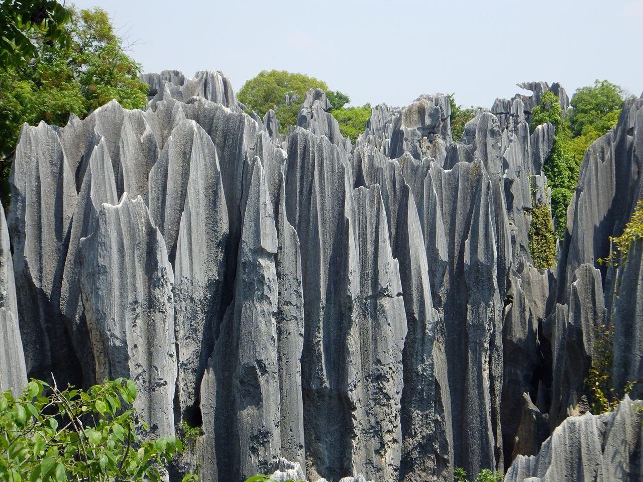 Se perdre dans le labyrinthe de la forêt de pierre à Shilin !
