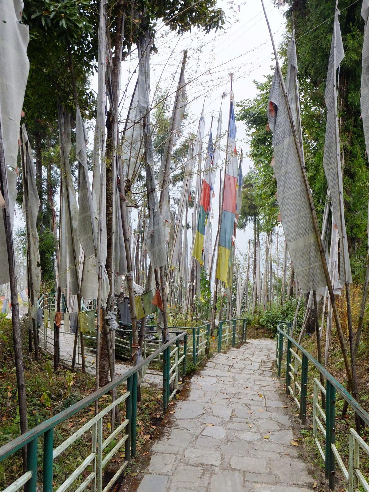 Le monastère de Tashiding : un de nos coups de coeur !