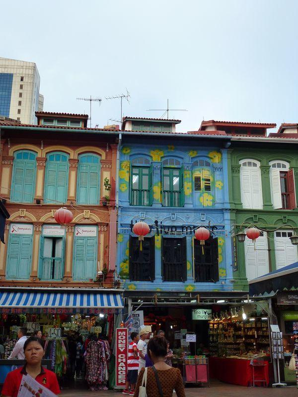 Balade au coeur des quartiers ethniques de Singapour