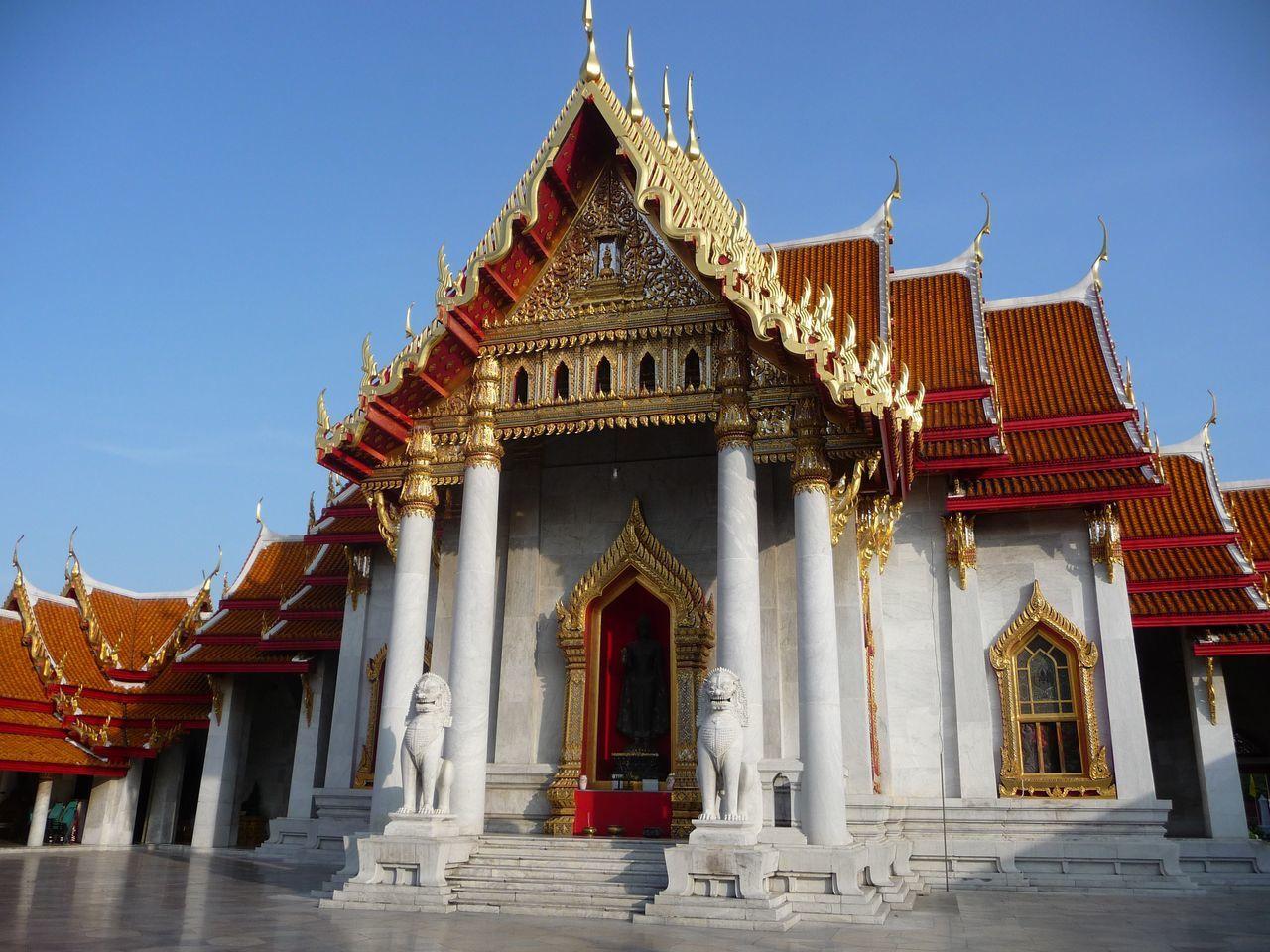 Le Wat Benchamabophit à Bangkok