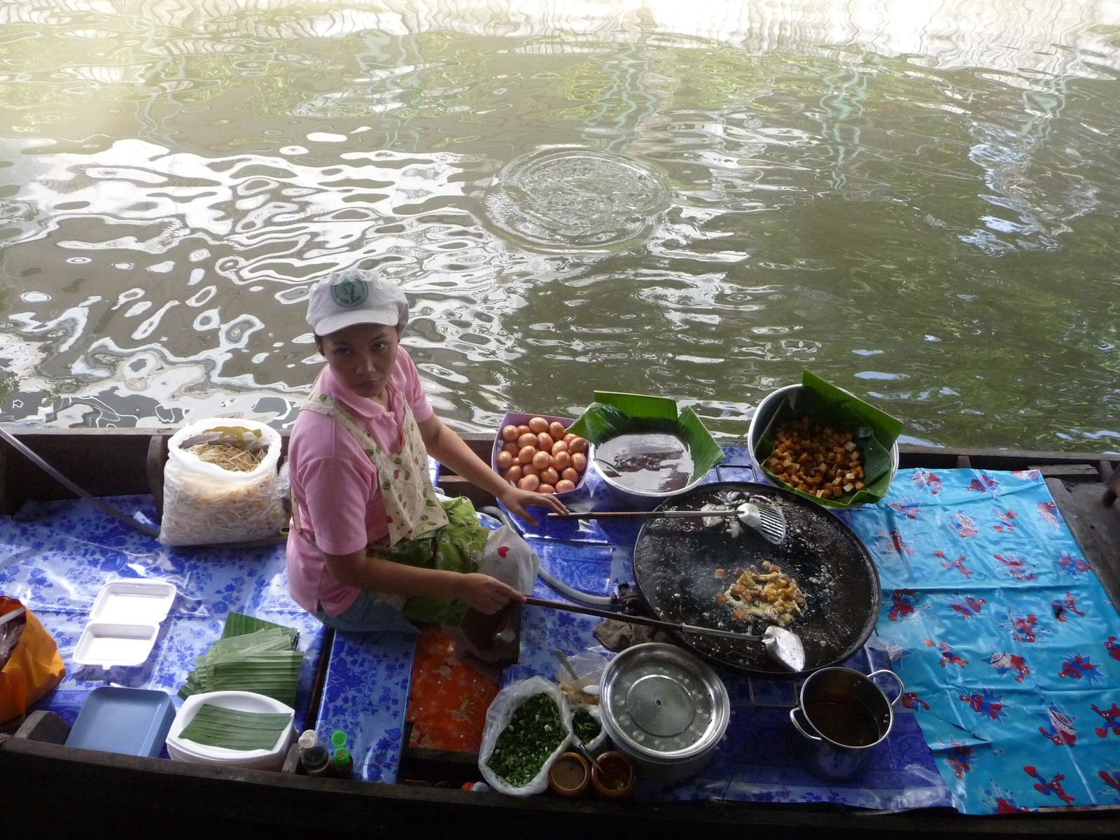 Bangkok : marchés flottants et nature !