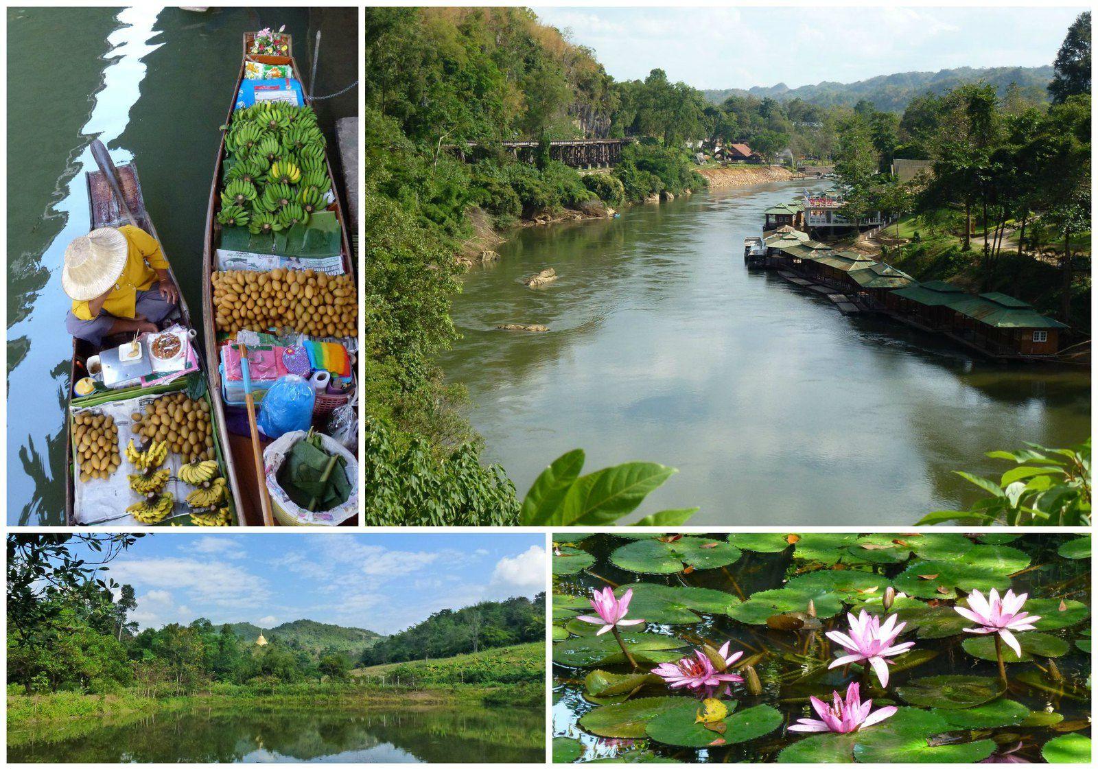 Destination, la Thaïlande