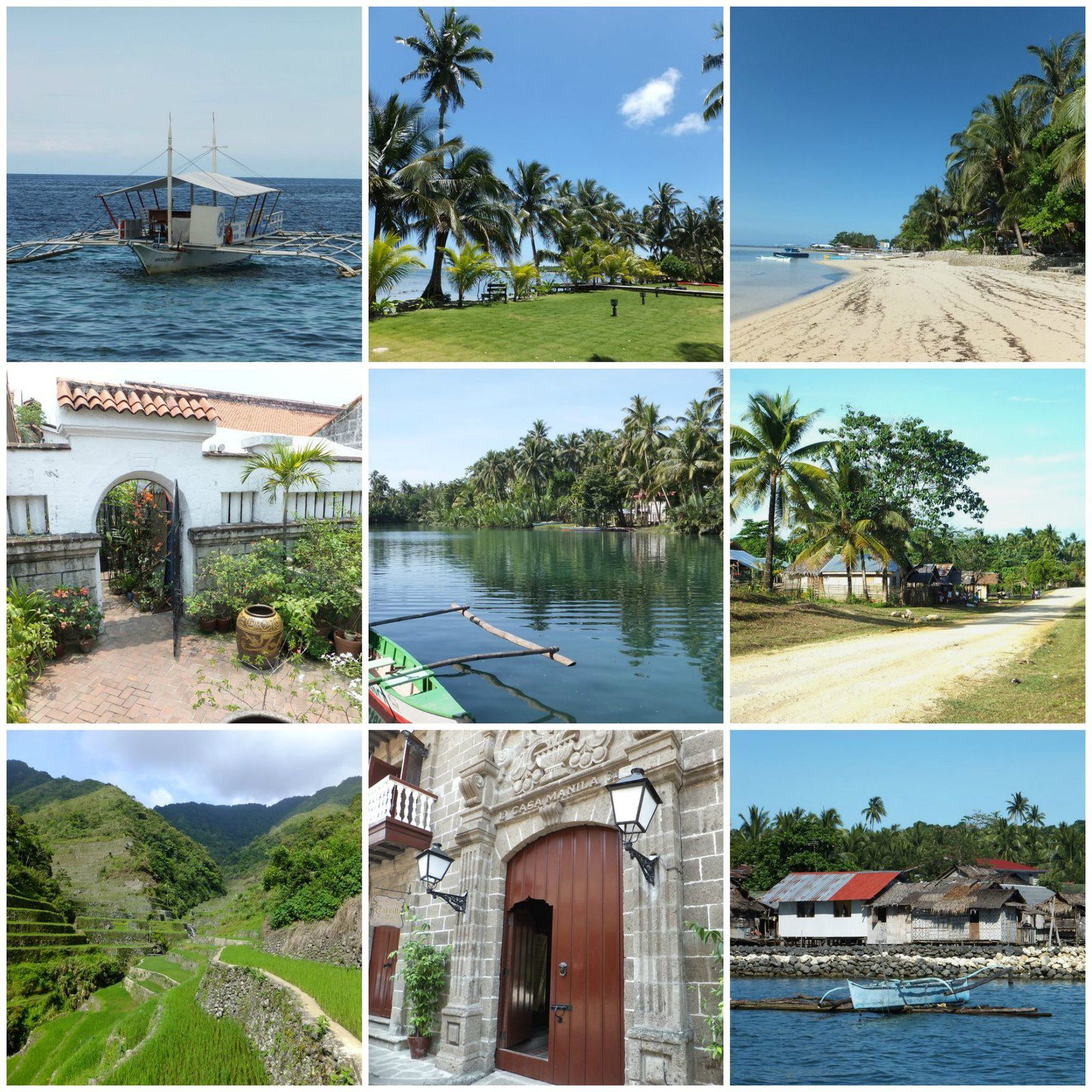 Destination, les Philippines