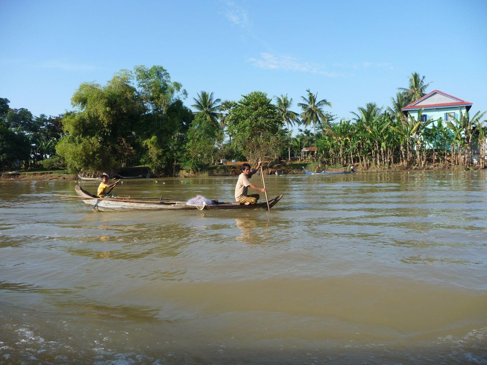 Le Cambodge, au fil du Tonlé Sap